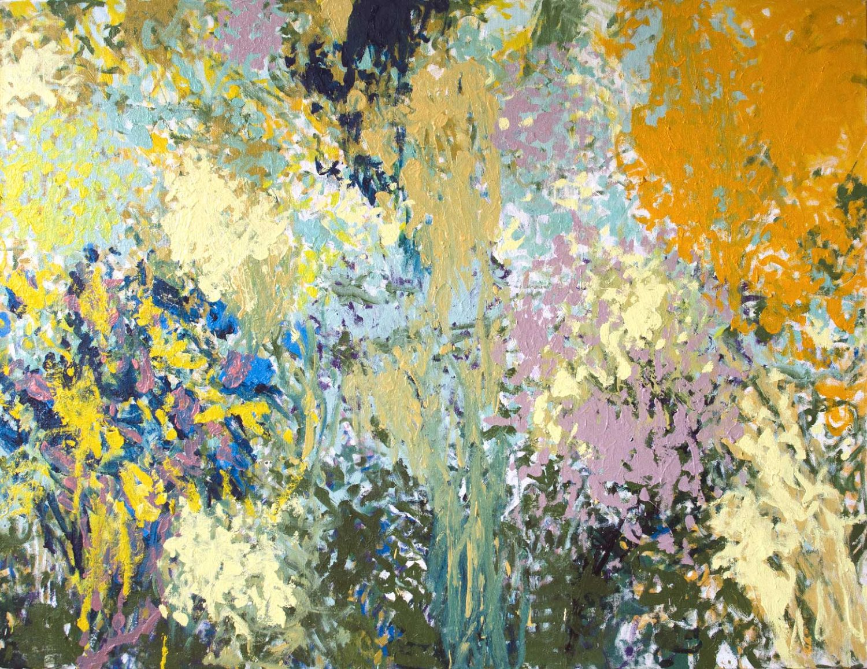 Eden - Huile sur toile - 135 x 175 cm - Juin 2018